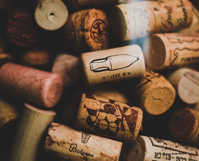 Cellartags corks